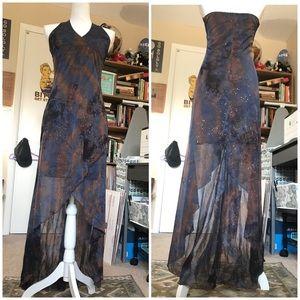 Sparkly Halter Dress